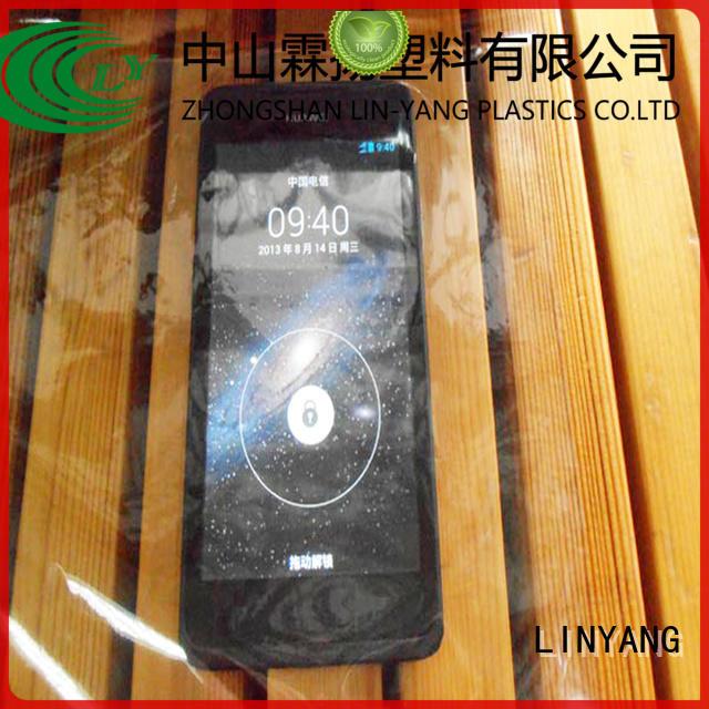 LINYANG antifouling Transparent PVC Film factory for handbags membrane