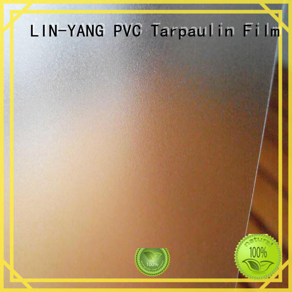 Waterproof, anti-fouling translucent PVC film