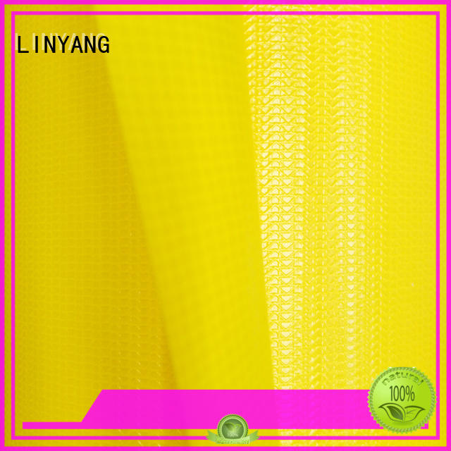 LINYANG heavy duty PVC Tarpaulin fabric supplier for sale