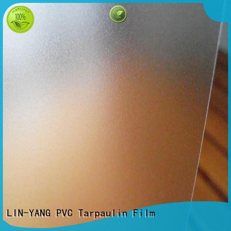 ceiliing creative pvc films for sale restaurant anti-fouling LIN-YANG Brand