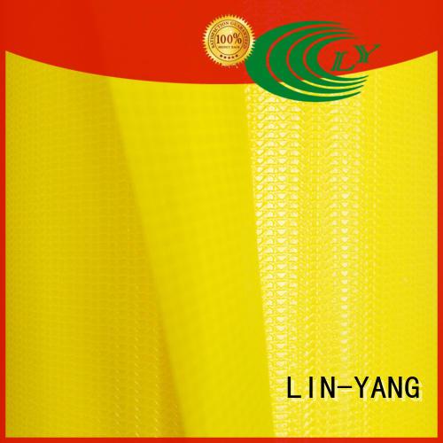 tarpaulin cover tensile for advertising banner LIN-YANG