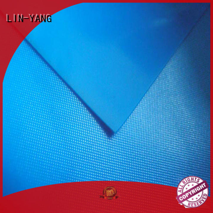 pvc film price packaging antifouling waterproof weather ability LIN-YANG Brand pvc film roll