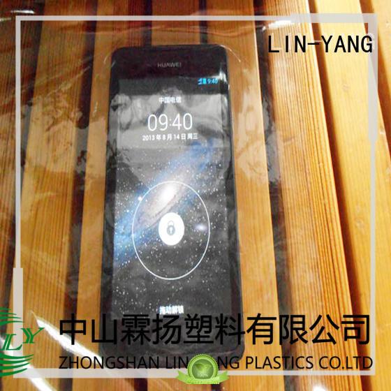 LIN-YANG Brand flexible waterproof pvc transparent film low cost
