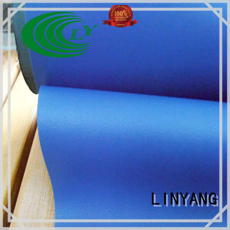 LINYANG pvc self adhesive film for furniture supplier for handbags