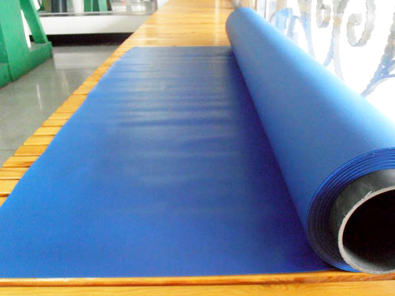 LINYANG waterproof pvc plastic sheet roll design for umbrella