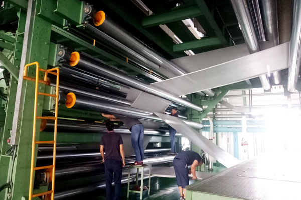 LINYANG anti-UV pvc film roll factory price for raincoat-20