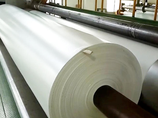 PVC Film Coiling Process