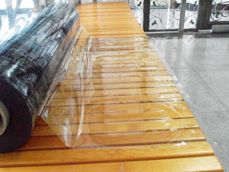 LINYANG anti-UV clear pvc film with good price for outdoor-1