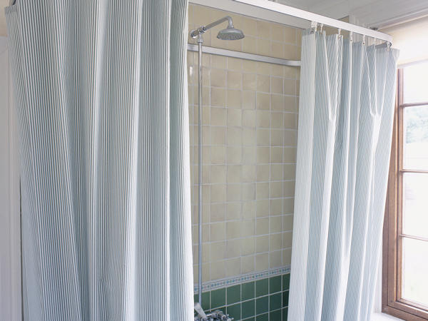 Plastic Shower Curtain