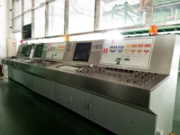 Lange calendaring machine