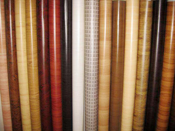 LINYANG pvc self adhesive film for furniture series for indoor