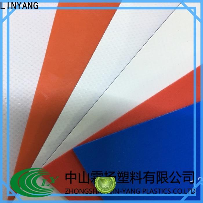 best tarpaulin film waterproof design for advertising banner