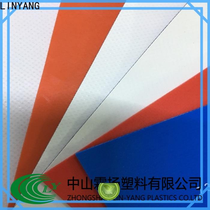 best tarpaulin film waterproof design for advertising banner