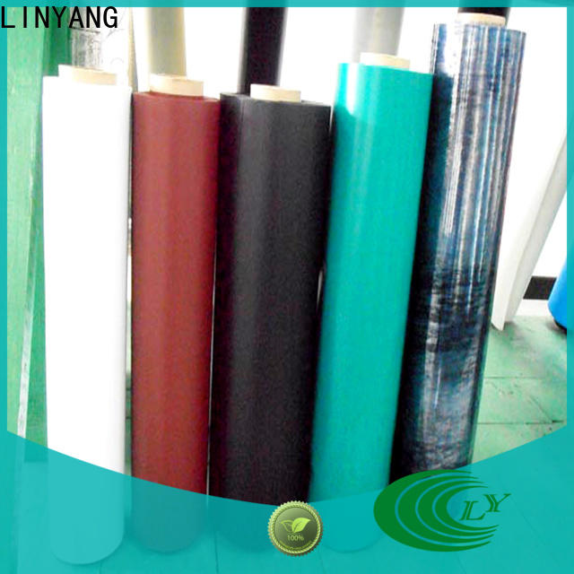 LINYANG waterproof Inflatable Toys PVC Film with good price for inflatable boat