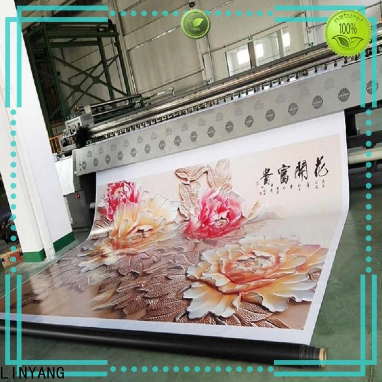 LINYANG pvc banner factory for importer