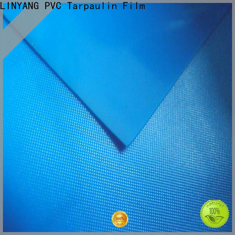 LINYANG waterproof pvc plastic sheet roll design for household