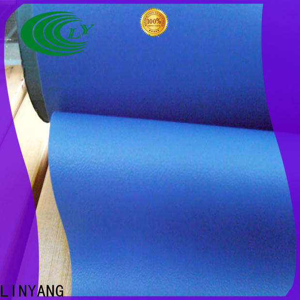 LINYANG film self adhesive film for furniture supplier for handbags