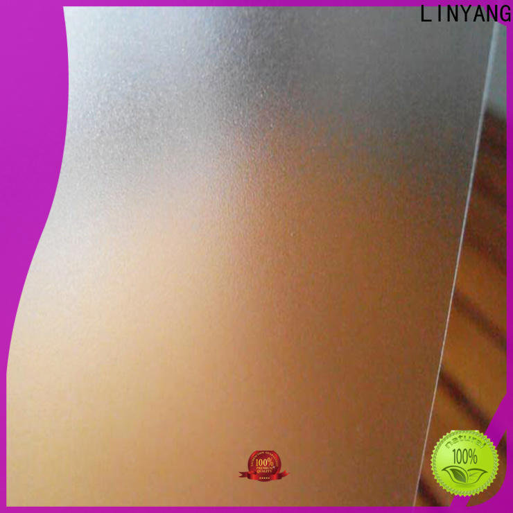 LINYANG translucent Translucent PVC Film directly sale for raincoat