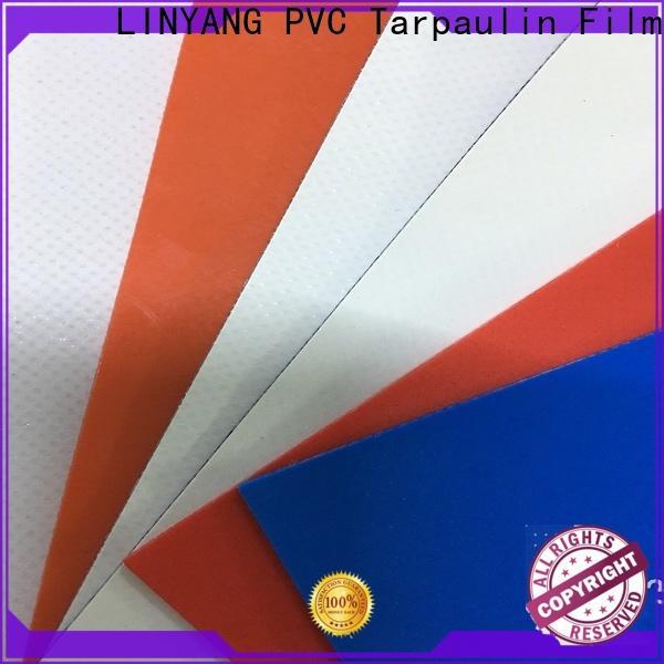 LINYANG waterproof pvc tarpaulin supplier for tent tarps