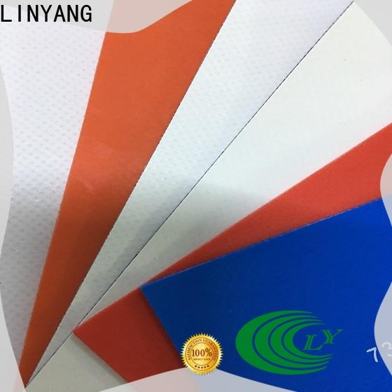 LINYANG pvc coated fabric factory for truck cover