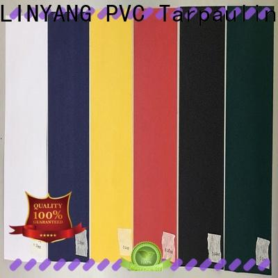 LINYANG anti-fouling pvc film personalized for umbrella