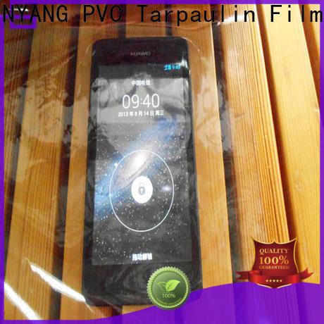 standard Transparent PVC Film transparent with good price for handbags membrane