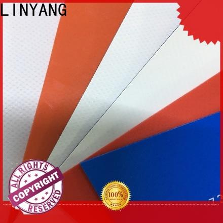 LINYANG antistripping waterproof tarpaulin design for geotextile