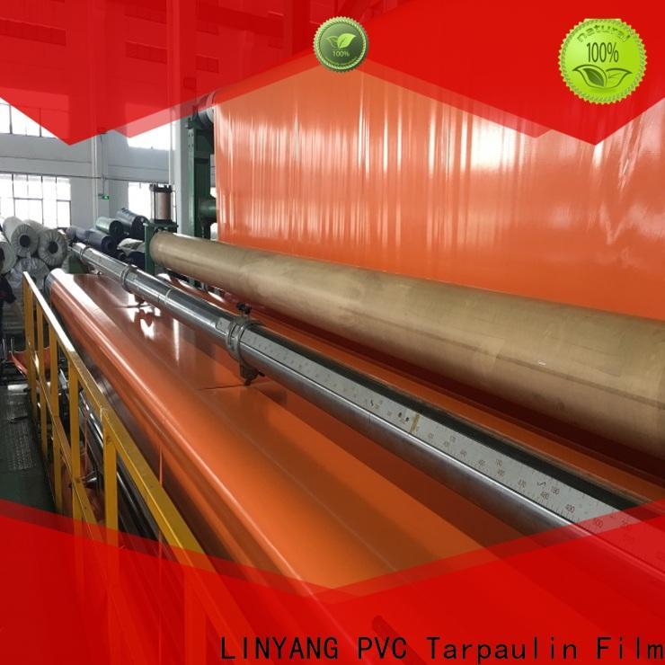 LINYANG pvc coated tarpaulin design