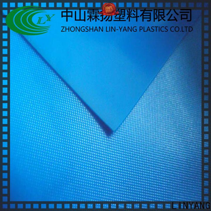 waterproof pvc plastic sheet roll waterproof factory price for umbrella