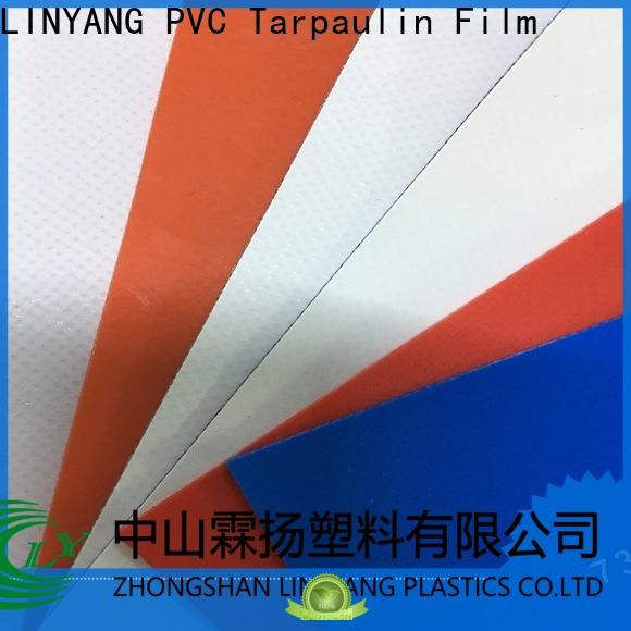 LINYANG mildew resistant tarpaulin film supplier for tent tarps