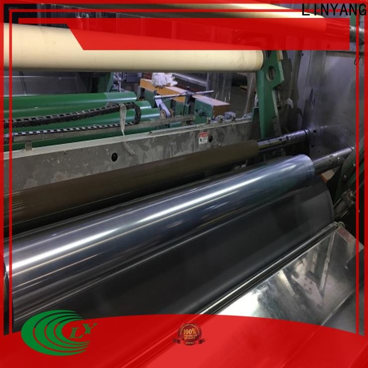 LINYANG clear pvc film from China