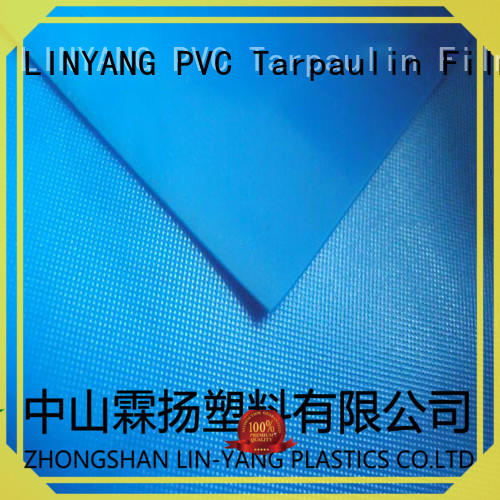 LINYANG film pvc film roll supplier for raincoat