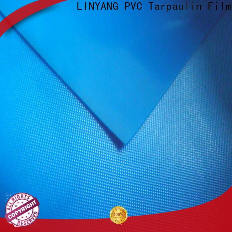 LINYANG antifouling pvc plastic sheet roll supplier for umbrella