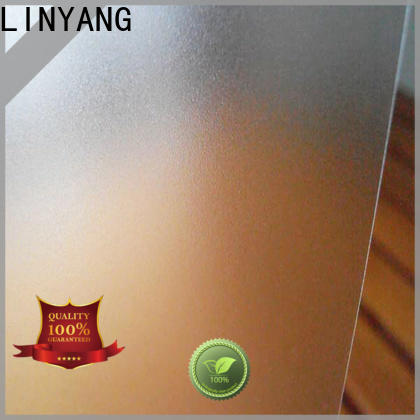 LINYANG waterproof pvc film eco friendly manufacturer for shower curtain