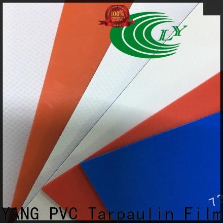 the newest pvc coated fabric supplier for outdoor