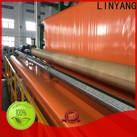 LINYANG new pvc coated tarpaulin one-stop services