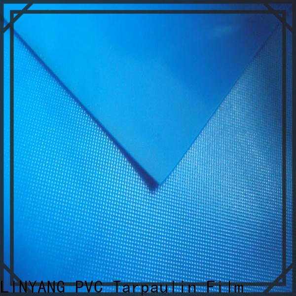 LINYANG widely used pvc film roll supplier for raincoat