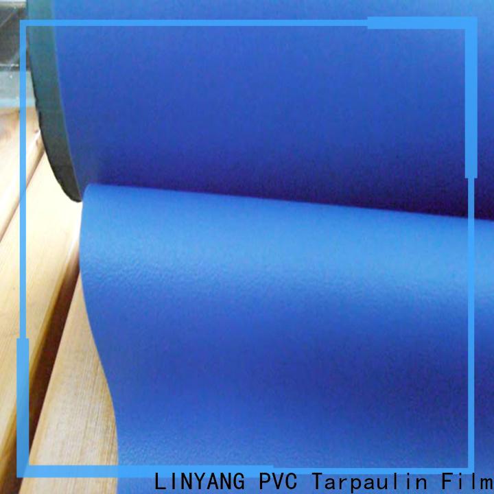 LINYANG semirigid self adhesive film for furniture design for indoor