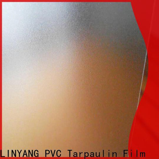 LINYANG pvc Translucent PVC Film inquire now for raincoat