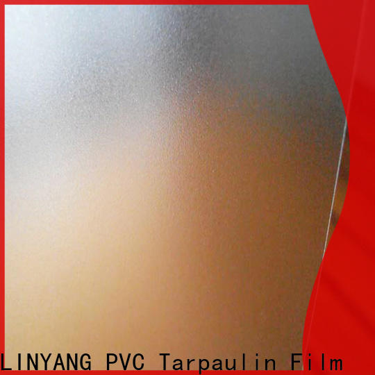 LINYANG pvc Translucent PVC Film inquire now for raincoat