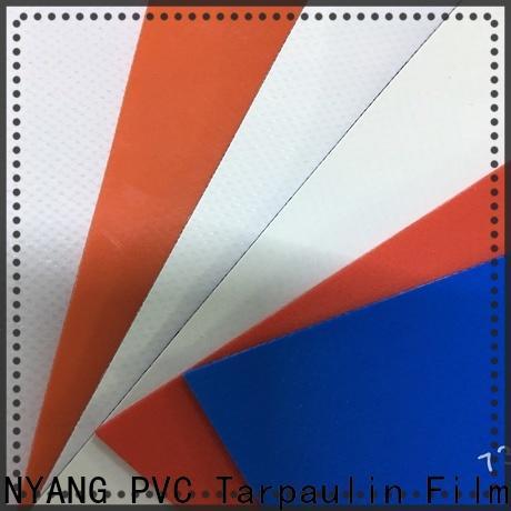 LINYANG resistant tarpaulin film design for advertising banner