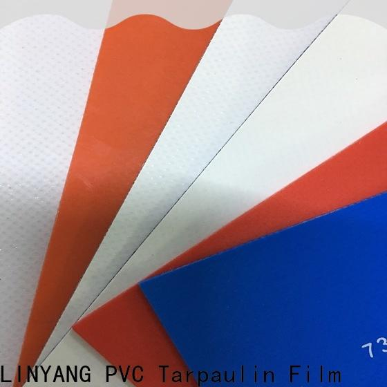 heavy duty pvc coated fabric factory for truck cover
