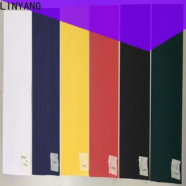 LINYANG waterproof pvc film manufacturer