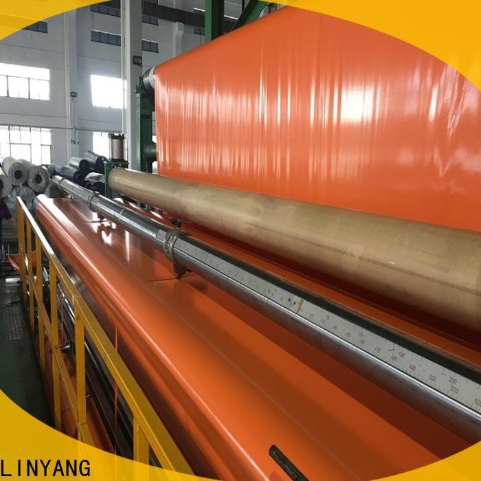 LINYANG affordable pvc coated tarpaulin design