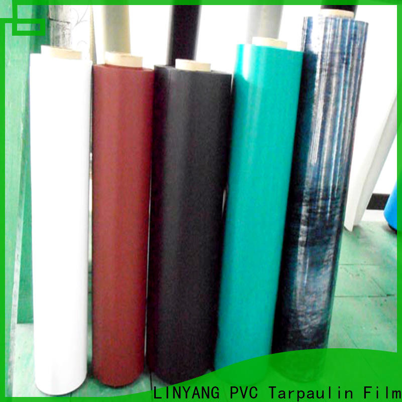 LINYANG waterproof Inflatable Toys PVC Film with good price for swim ring