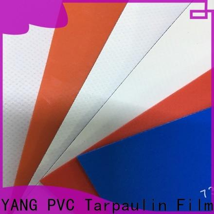 high quality PVC Tarpaulin fabric manufacturer for truck cover