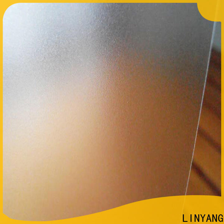 widely used pvc film eco friendly translucent directly sale for plastic tablecloth