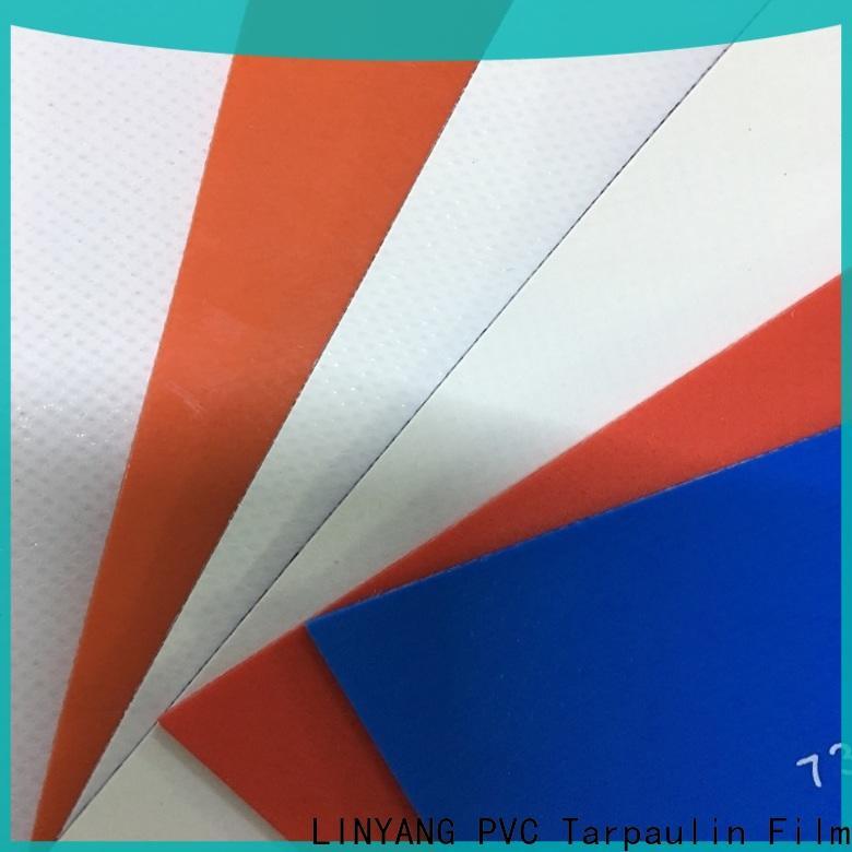 LINYANG mildew resistant tarpaulin film series for tent tarps