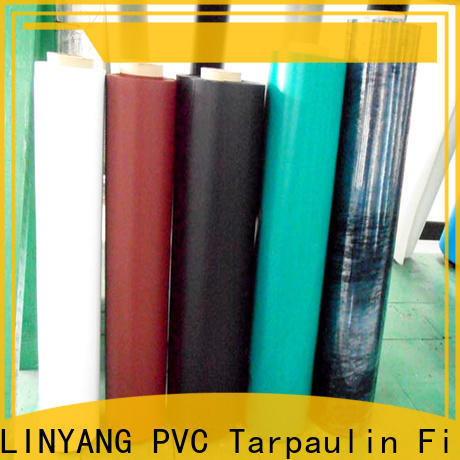 LINYANG good transparency inflatable pvc film customized for aquatic park