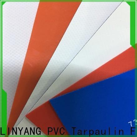 LINYANG PVC Tarpaulin fabric manufacturer for sale